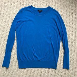J. Crew Thin Cotton Long-Sleeve Sweater